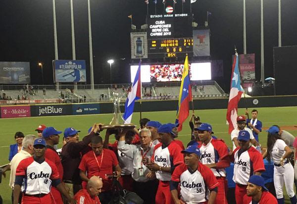 Serie del Caribe 2015 Cuba campeon