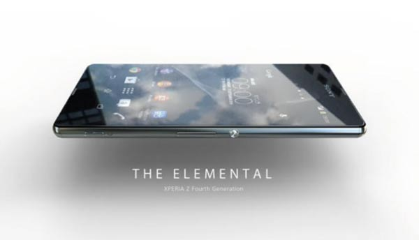Sony Xperia Z Four The Elemental