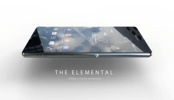 Sony Xperia Z Four The Elemental